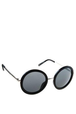 משקפי שמש עגולות עם ידית מתכת
